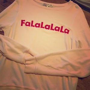 Wildfox Pink sweater/sweatshirt size medium